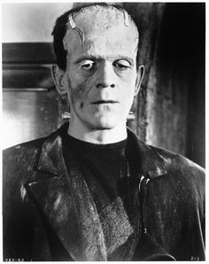 "Boris Karloff as the Monster from ""Bride of Frankenstein"