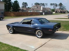 finally nice day, clean car, few pics :) - Vintage Mustang Forums