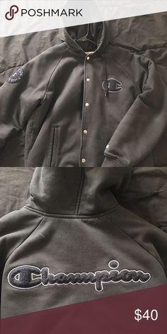 Champion varsity jacket Size medium. Good condition. Champion Jackets & Coats Bomber & Varsity