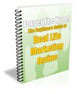 Forget the Hype PLR eBook - http://www.buyqualityplr.com/plr-store/forget-hype-plr-ebook/.  Forget the Hype PLR eBook #Marketing #MarketingOnline #ListBuilding #EmailMarketing #PLREbook The Beginners Guide to Real Life Marketing Online You've decided to take the step, or rather the giant leap into the world of marketing online, huh? That's great! So where would be a good place to star....