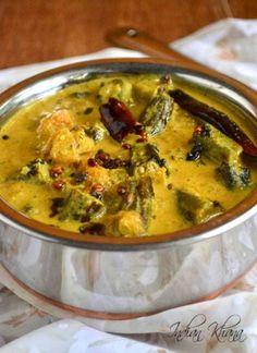 Hyderabadi Dahi Bhindi | Dahi Bhindi Masala | Okra Recipes http://www.indiankhana.net/2013/11/hyderabadi-dahi-bhindi-dahi-bhindi.html