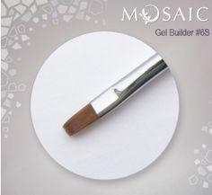 Mosaic Gel Builder Brush #6S