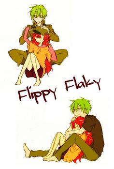 Happy Tree Friends: Flippy x Flaky