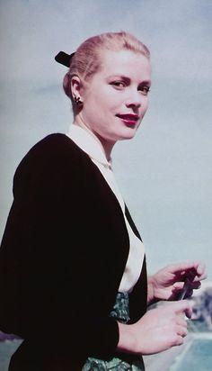 princessgracekelly1956: Grace Kelly, Cannes Film Festival, 1955