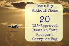 Going on a trip? Here are the things you MUST have in your carry-on bag.