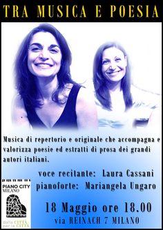 TRA MUSICA E POESIA, Milano Piano City 2014- Mariangela Ungaro