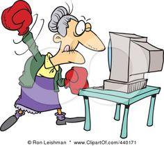 picture of someone beating their computer | Postado por Regina às 21:30 Nenhum comentário: