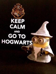 Harry Potter minion!! #minions #harrypotter #hogwarts #epic #greatness #geekery