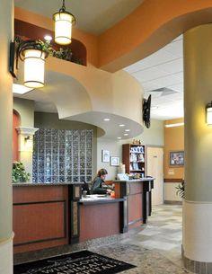 Reception desk | Hospital Design