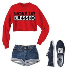"""""""Day 15"""" by khristenh on Polyvore featuring Vans"""