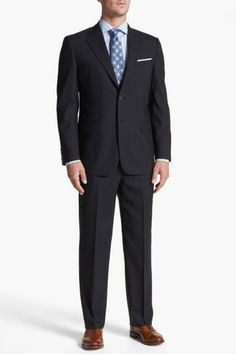 Joseph Abboud 'Signature Silver' Wool Suit by Non Specific on @HauteLook