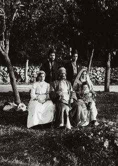 Group of Yemenite jews, Palestine