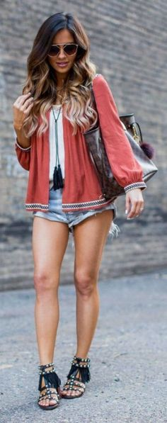 #summer #popular #outfitideas Summer Boho Vibes Outfit