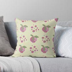 Buy Pillows, Throw Pillows, Cozy House, Original Art, Cushions, Textiles, Bright, Pattern, Prints