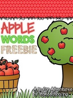 Apple Vocabulary Word Booklet provides students a place to practice vocabulary… Preschool Apple Theme, Apple Activities, Beginning Of Kindergarten, Kindergarten Themes, Apple Word, Tree Life Cycle, Common Core Writing, Writing Anchor Charts, Informational Writing