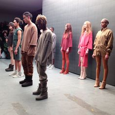 Kanye x Adidas at New York Fashion Week AW15. See more #nyfw http://seen.co/event/nyfw-day-1--2015-8699