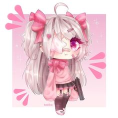 Cute Anime Chibi, Kawaii Chibi, Kawaii Anime Girl, Anime Art Girl, Kawaii Cute, Anime Drawing Styles, Cute Kawaii Drawings, Anime Life, Ideas