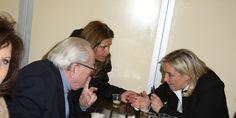 """Marine Le Pen """" ne savait pas """" que Jean-Marie Le Pen était candidat aux régionales dans le PACA mais préfère """" Marion """""""