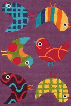 Bellissimo Multicolore Bambini Tappeti KD-94090 X 150 CM ( 3'x5′ ) | Arts of India – Italy