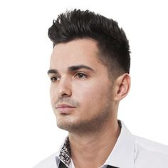 another nice men's haircut for thick hair this year