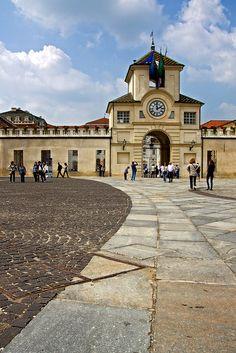 Plaza della Republicca, Collegno, Piedmont, Italy