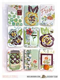 NoelMignon.com Layouts and Projects: NoelMignon Country Life Daily Diary Pocket Letter