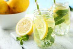 4. Rezept für Chiawasser mit Zitrone