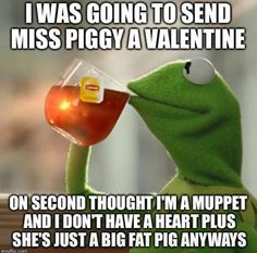 Kermit The Frog ~ But That's None Of My Business....