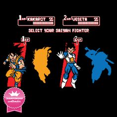 SELECT Z FIGHTER T-Shirt $10 Dragon Ball tee at ShirtPunch today only!