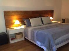 cabeceira para cama em madeira de demolição rustica