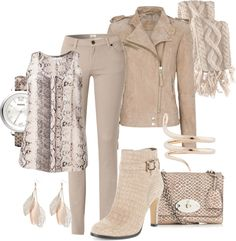 """Snake Charmer: Sand"" by featherlynne on Polyvore"