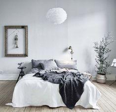 Gorgeous modern scandinavian bedroom design 01