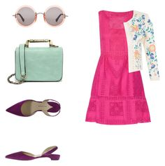 A fashion look from August 2015 featuring pink dress, white cardigan and pointed-toe flats. Browse and shop related looks. White Cardigan, Pointed Toe Flats, Pink Dress, Fashion Looks, Polyvore, Outfits, Shopping, Dresses, Pink Sundress