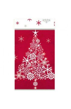 Sparkle Tree Plastic Tablecover - Christmas & Winter Party Decoration & Tableware Ideas