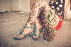Summers Sandals - Turquoise #ModernVice | Check out more of our Summer Sale Shoes: http://www.modernvice.com/collections/summer-sale (Sandals, Creepers, Wedges, Booties, Slides and more)
