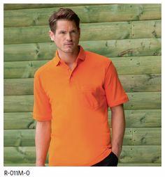Koszulki Polo marki Russell - do promocji, reklamy i pracy