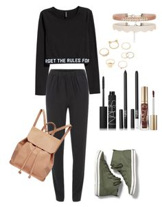 """Uh huh honey"" by mone-blopes ❤ liked on Polyvore featuring Keds, Designers Remix, NARS Cosmetics, Too Faced Cosmetics, Charlotte Russe and Urban Originals"