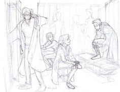 Harry,Ginny, and Ron-Burdge