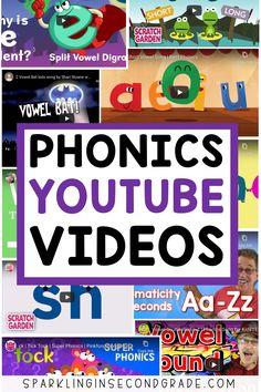 YOUTUBE VIDEOS TO TEACH PHONICS