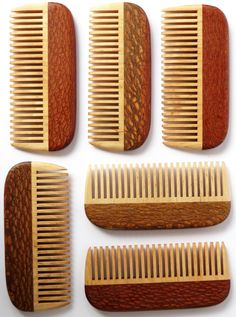 What a treat for the tresses--a handmade wooden comb that just glides through your hair.