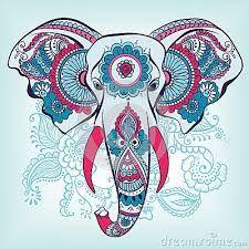 Resultado de imagen para cara elefante hindu