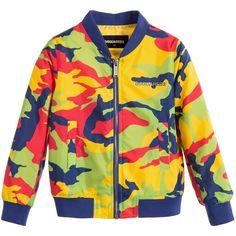 Boys Lightweight Camouflage Jacket, DSquared2, Boy