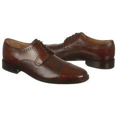 Men's Bostonian Ricardo Cap Toe Brown/Brown Shoes.com