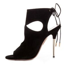 Sexy Thing Metal 105 Black Suede
