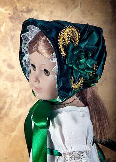 Regency Evening Dress Historical American Girl Doll  Clothes. $39.00, via Etsy.