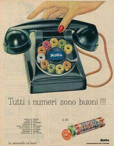 Advertising Space, Retro Advertising, Retro Ads, Vintage Advertisements, Vintage Italian Posters, Vintage Travel Posters, Poster Vintage, Vintage Candy, Retro Vintage