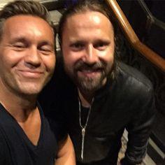 Max Martin and David Eriksen