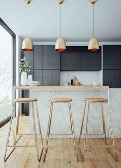 View entire slideshow: 20 Gorgeous Non-White Kitchens on http://www.stylemepretty.com/collection/933/