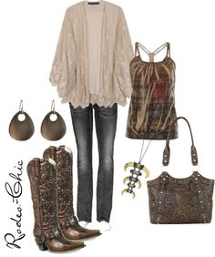 """""""Untitled #49"""" by rodeo-chic ❤ liked on Polyvore"""
