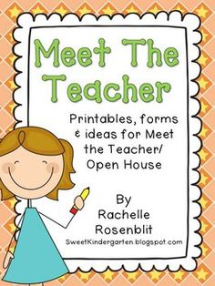 Make A Story Book About The Teacher To Share With The Class The